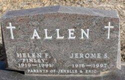 Helen F <i>Finley</i> Allen