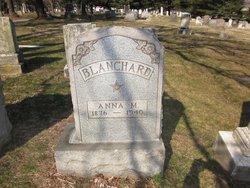 Anna M. Annie <i>Weaver</i> Blanchard