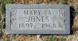 Mary A <i>Miller</i> Jones