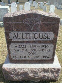 Mary A <i>Barr</i> Aulthouse
