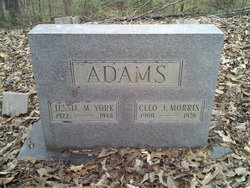 Cleo Jane <i>Morris</i> Adams