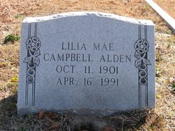 Lilia Mae <i>Campbell</i> Alden