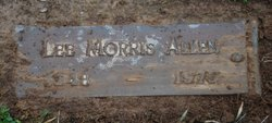 Lee Morris Allen