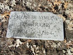 Elizabeth <i>Symons</i> Burroughs