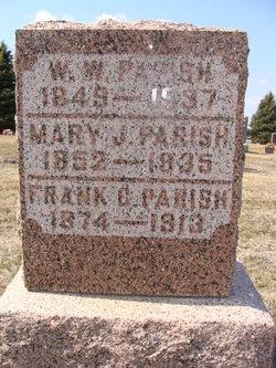 Mary Jane <i>Waters</i> Parish
