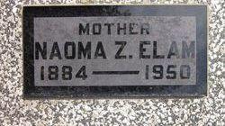 Naoma Zane <i>Goodmon</i> Elam