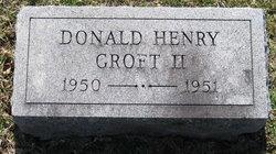 Donald Henry Groft