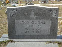 Grover Cleveland Rhoden, Sr
