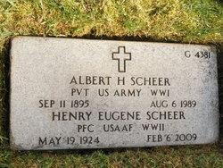 Albert H Scheer