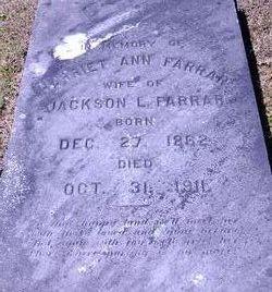 Harriet Ann Farrar