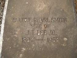 Mattie Pearl <i>Smith</i> Lee