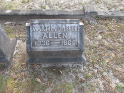 Martha <i>Dasher</i> Allen