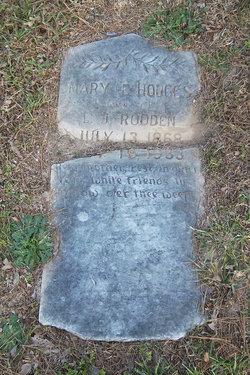 Mary Eva <i>Hodges</i> Rodden