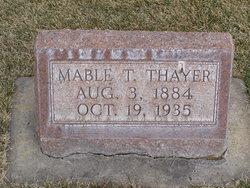 Mable <i>Tubbs</i> Thayer