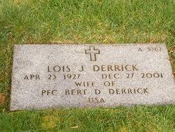 Bert D Derrick