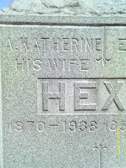 Katherine <i>Huffert</i> Hext