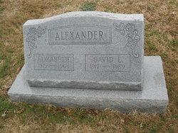 Mary Elizabeth <i>Green</i> Alexander
