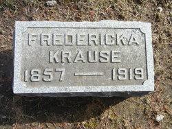 Fredericka Wilhelmina <i>Pagel</i> Krause