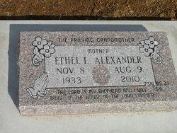Mrs Ethel L Alexander