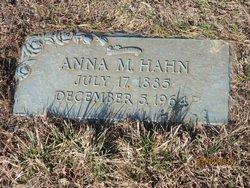 Anna Maria <i>Gesell</i> Hahn
