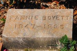 Frances Fannie <i>Bonds</i> Boyette