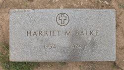 Harriet Mae <i>Jeschke</i> Balke