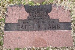 Faith <i>Bradlyford</i> Lamb