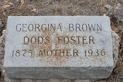 Georgina Brown <i>Dods</i> Foster