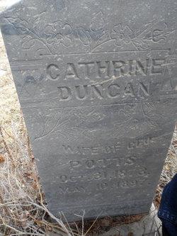 Catherine <i>Duncan</i> Potts