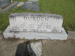 Leila T. <i>Thompson</i> Durden