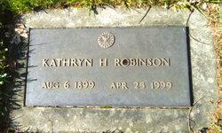 Kathryn Helena <i>Wetzel</i> Robinson