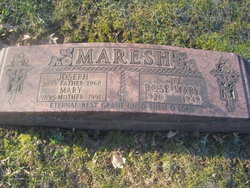 Rose Mary <i>Kazimour</i> Maresh