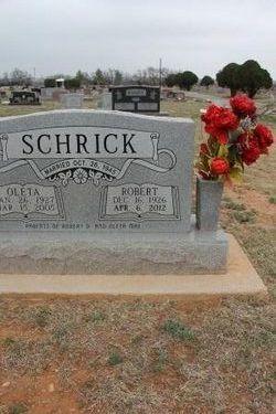 Robert Wayne Schrick
