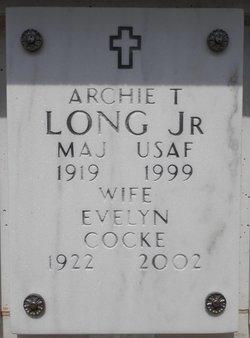 Archie T Long, Jr