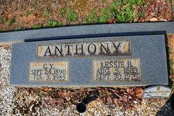 Lessie E <i>Booth</i> Anthony