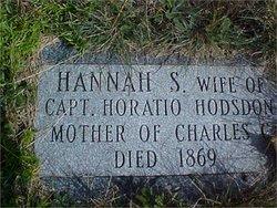 Hannah <i>Sullivan</i> Hodsdon