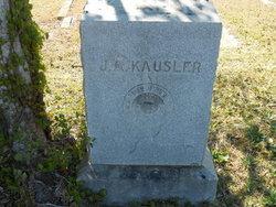 J. A. Kausler