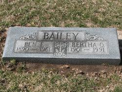 Bertha O <i>Sharp</i> Bailey