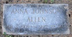 Anna Eleanore <i>Johnson</i> Allen