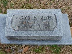 Marion M Meyer