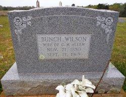 Bunch <i>Wilson</i> Allen