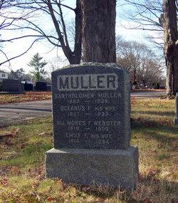 Oceanus F. <i>Webster</i> Muller