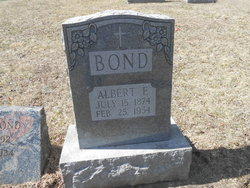 Albert F Bond