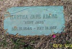 Martha Jane <i>Agle</i> Adams