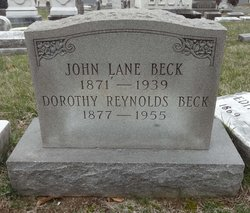 Ethel Norah Dorothy Howard <i>Reynolds</i> Beck