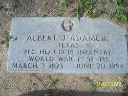 Albert J Adamcik