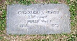 Charles L Bage