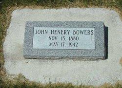 John Henry Bowers