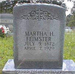 Martha H Feimster