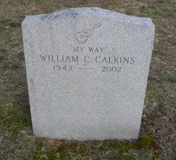 William Charles Bill Calkins
